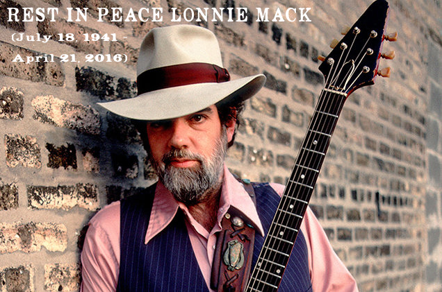 REST IN PEACE LONNIE MACK